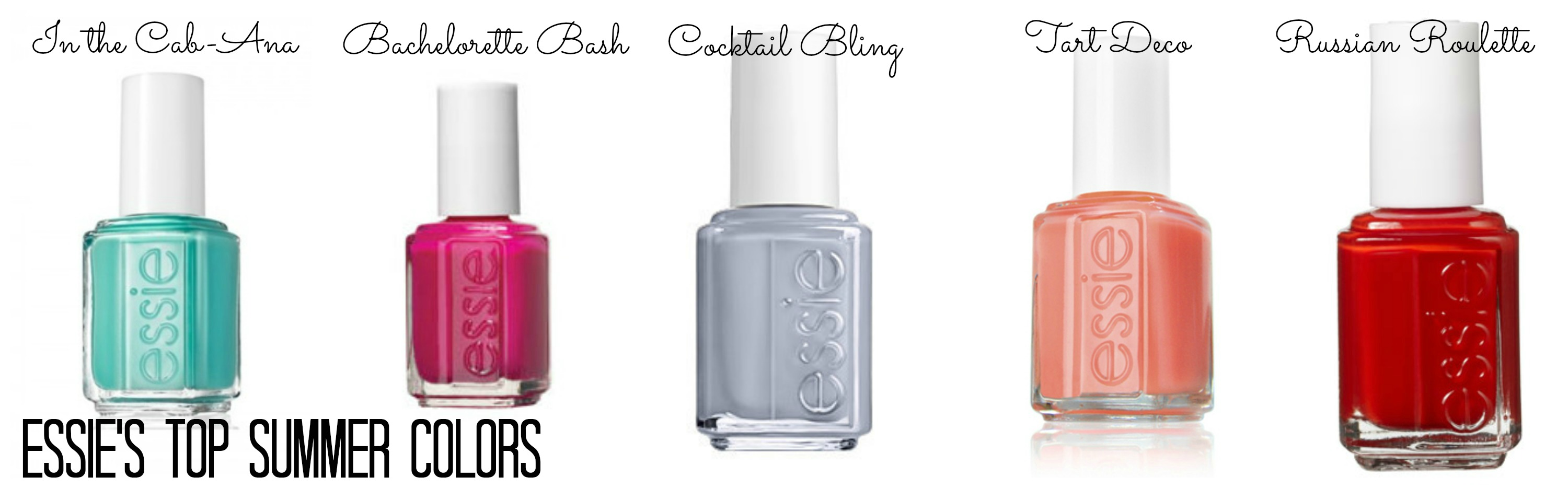 Five Favorite Summer Nail Colors: Essie Style - To The Heights