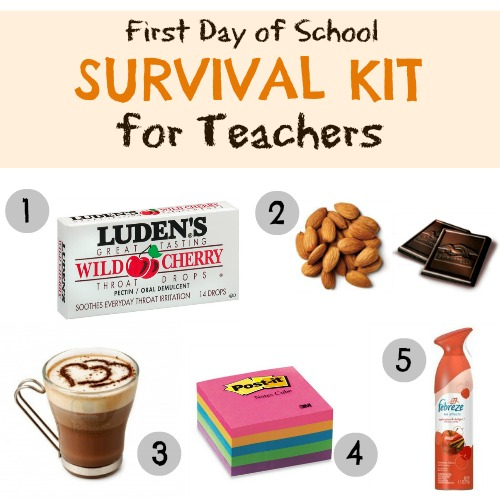 Brilliant First Day Of School Survival Kit For The Teach To The Heights Hairstyles For Men Maxibearus