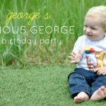 George's Curious George 1st Birthday Party
