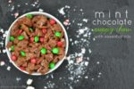 Mint Chocolate Puppy Chow with Essential Oils