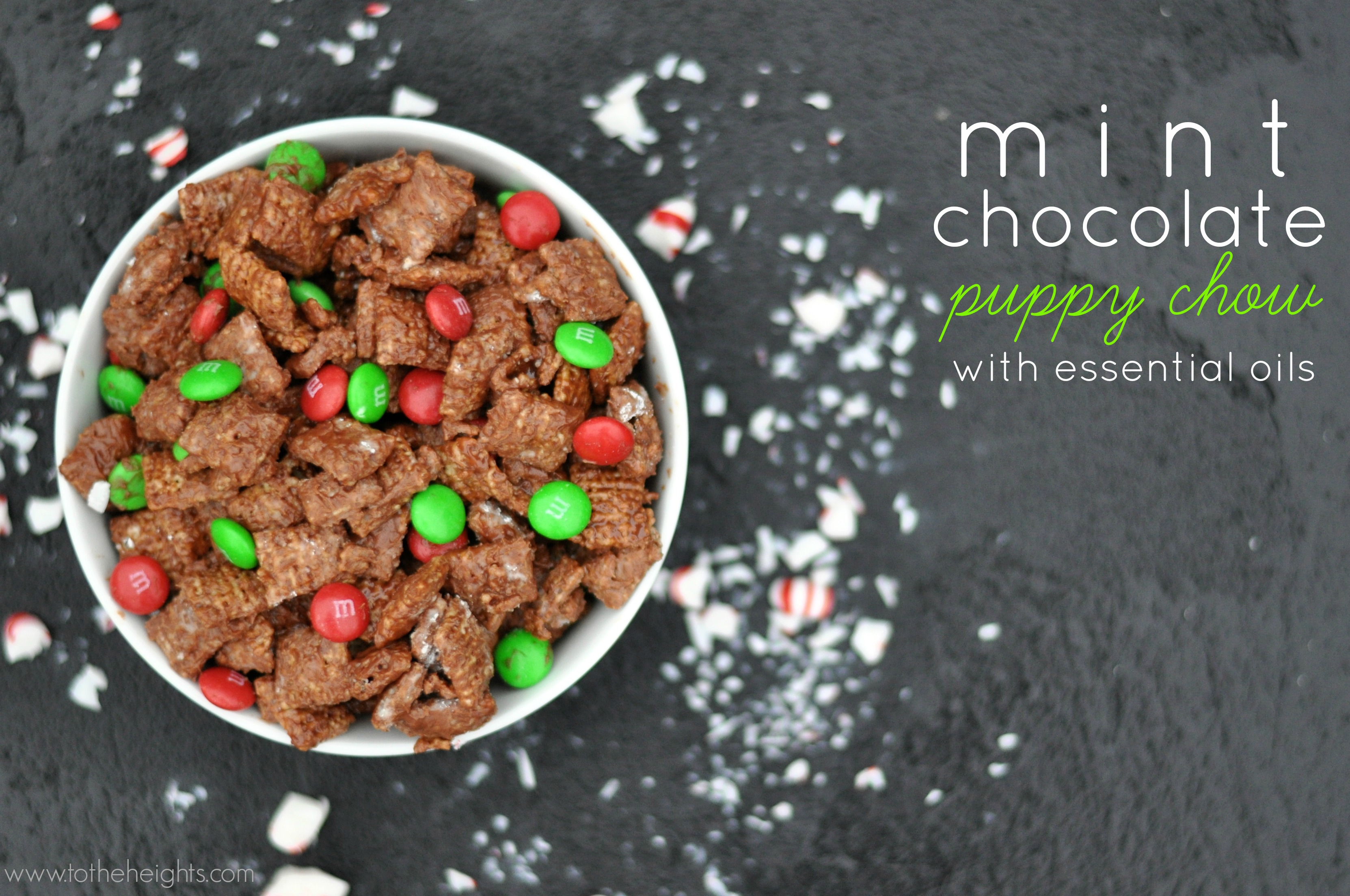 mint-chocolate-puppy-chow-essential-oils