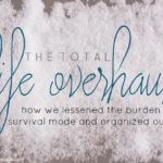 The Total Life Overhaul: An Introduction