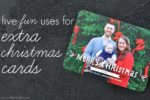5 Uses for Extra Christmas Cards
